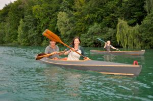 kanu selber bauen kanu selber paddeln