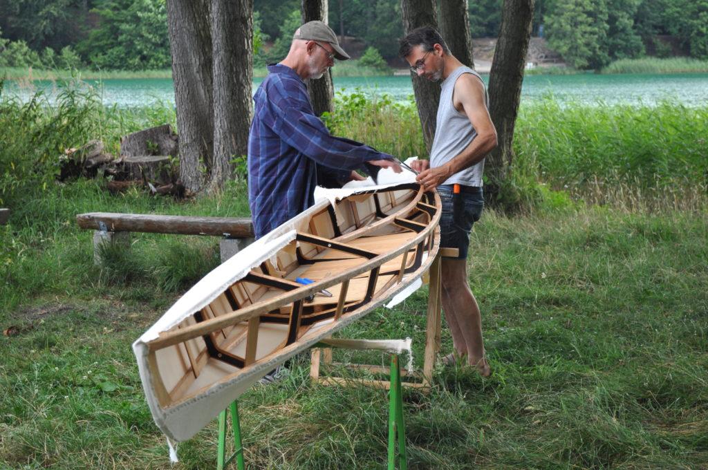 Kanu selbst bauen urbanindian