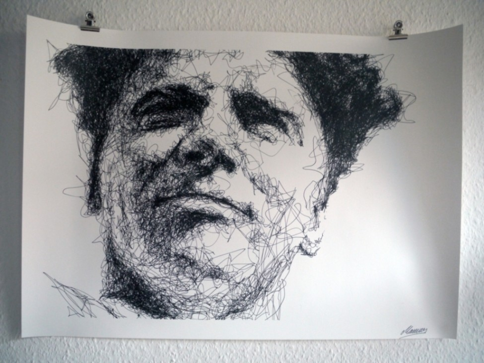 Portrait, gemalt von Josep Martinez Bosch